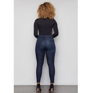 Good American Jeans - Good American Good Waist Crop High Waisted Jeans